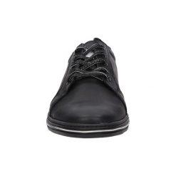 Buty Casu  Półbuty skórzane sznurowane  320. Czarne półbuty sznurowane męskie marki Casu. Za 149,99 zł.