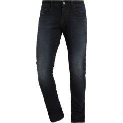 GStar 3301 DECONSTRUCTED SKINNY Jeans Skinny Fit lor superstretch dark aged. Niebieskie rurki męskie G-Star, z bawełny. Za 559,00 zł.