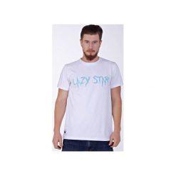 T-shirty męskie: Lazy Star White T-shirt