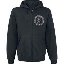 Bejsbolówki męskie: Gas Monkey Garage Logo Bluza z kapturem rozpinana czarny