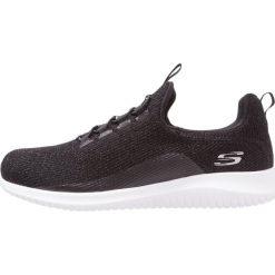 Creepersy damskie: Skechers Sport ULTRA FLEX Półbuty wsuwane black/white
