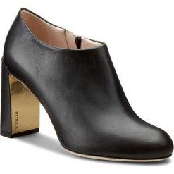 Botki FURLA - Lara 838310 S Y893 WU0 Onyx. Czarne buty zimowe damskie marki Furla, ze skóry. W wyprzedaży za 789,00 zł.