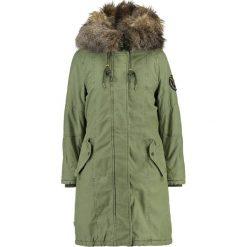 Płaszcze damskie pastelowe: khujo MERYEM 2 IN 1 Płaszcz zimowy pale olive
