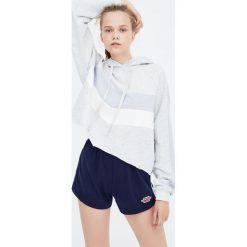 Bluzy rozpinane damskie: Bluza z panelami w szpic