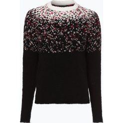 Review - Sweter damski, czarny. Szare swetry klasyczne damskie marki Review, l, z tkaniny, z okrągłym kołnierzem. Za 199,95 zł.