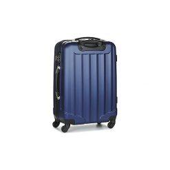 Walizki twarde David Jones  CHAUVETTA 50L. Niebieskie torebki klasyczne damskie marki David Jones. Za 215,10 zł.