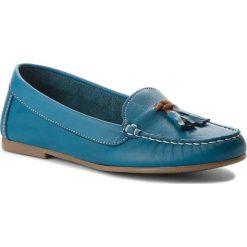 Mokasyny FILIPE - 8339 Azul. Niebieskie mokasyny damskie Filipe, z materiału. W wyprzedaży za 179,00 zł.