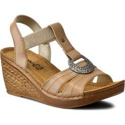 Rzymianki damskie: Sandały INBLU – OC02HC11 Jasny Brąz