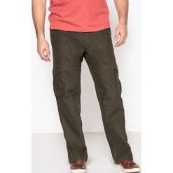Bojówki męskie: Spodnie bojówki w gumkę