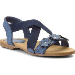 Sandały dziewczęce: Sandały NELLI BLU – CM170531-01 Granatowy