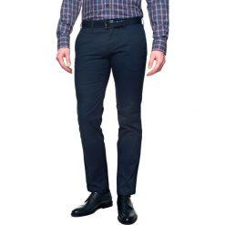 Spodnie volanti 214 niebieski slim fit. Niebieskie rurki męskie Recman. Za 49,99 zł.
