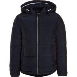 BOSS Kidswear Kurtka zimowa marine. Niebieskie kurtki chłopięce zimowe marki BOSS Kidswear, z bawełny. Za 639,00 zł.