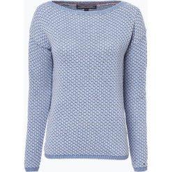 Swetry klasyczne damskie: Tommy Hilfiger – Sweter damski – Venus, niebieski