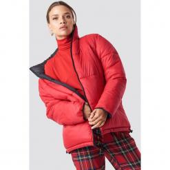 NA-KD Trend Kontrastowa kurtka watowana - Black,Red. Szare kurtki damskie puchowe marki WED'ZE, m, z materiału. Za 364,95 zł.