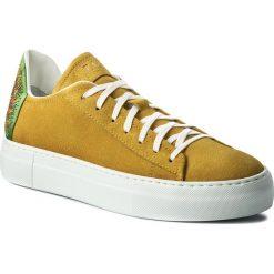 Sneakersy FABI - FD5437X  Limone. Żółte sneakersy damskie Fabi, z materiału. W wyprzedaży za 819,00 zł.