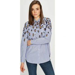 Scotch & Soda - Koszula. Szare koszule damskie marki Scotch & Soda, m, w paski, z bawełny, casualowe, z klasycznym kołnierzykiem, z długim rękawem. W wyprzedaży za 339,90 zł.
