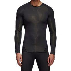 Koszulka termoaktywna męska ADIDAS TECHFIT ALPHASKIN / CF7187. Czarne odzież termoaktywna męska Adidas, m. Za 249,00 zł.