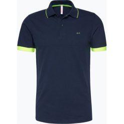 Koszulki polo: SUN68 – Męska koszulka polo, niebieski