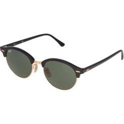 Okulary przeciwsłoneczne damskie aviatory: RayBan CLUBROUND Okulary przeciwsłoneczne black