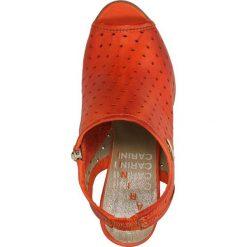 SANDAŁY CARINII B1375. Różowe sandały damskie marki Casu. Za 219,99 zł.