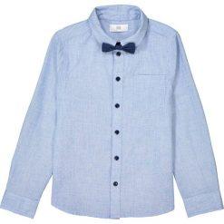 Odzież chłopięca: Koszula z ozdobną muszką 3-12 lat