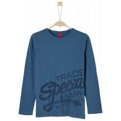S.Oliver Koszulka Chłopięca 8192 M Niebieski. Niebieskie t-shirty chłopięce S.Oliver, z napisami. Za 69,00 zł.