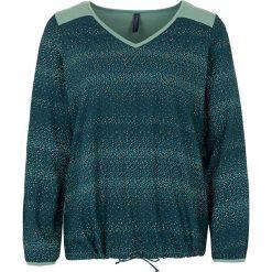"""Bluzki asymetryczne: Koszulka """"Silke"""" w kolorze morskim"""