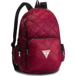 Plecak GUESS - HM6526 NYL84 BOR. Czerwone plecaki męskie Guess, z aplikacjami, z materiału. Za 279,00 zł.