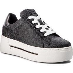 Sneakersy MICHAEL MICHAEL KORS - Ashlyn Sneaker 43F8AHFS1B Black. Czarne sneakersy damskie marki MICHAEL Michael Kors, z gumy, przed kolano, na wysokim obcasie. Za 819,00 zł.