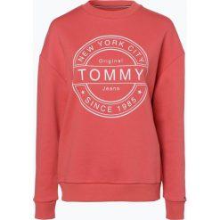 Bluzy rozpinane damskie: Tommy Jeans - Damska bluza nierozpinana, czerwony