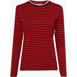 Marie Lund - Damska koszulka z długim rękawem, czerwony. Czerwone t-shirty damskie Marie Lund, m, w paski, z bawełny. Za 89,95 zł.