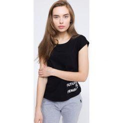 T-shirty damskie: T-shirt damski TSD213 – czarny – 4F