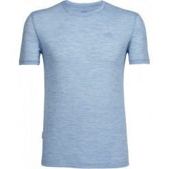 Odzież termoaktywna męska: Icebreaker Koszulka Sportowa Mens Tech Lite Ss Crewe Mist Blue Hthr/Mist Blue Hthr/Mist Blue Hthr Xxl