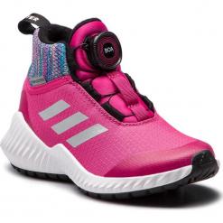 Buty adidas - FortaTrail Boa Btw K AH2585 Reamag/RefsilL/Grefiv. Czarne buty do biegania damskie marki Adidas, z kauczuku. W wyprzedaży za 209,00 zł.