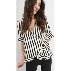 Odzież damska: Koszulka wiązana z boku