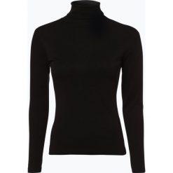 Brookshire - Damska koszulka z długim rękawem, czarny. Czarne t-shirty damskie brookshire, l, z bawełny, z golfem. Za 89,95 zł.