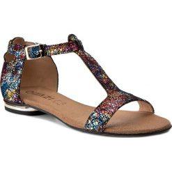 Rzymianki damskie: Sandały QUAZI - 2450 Kolorowy