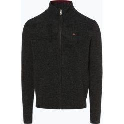 Napapijri - Kardigan męski – Noyid3, szary. Szare swetry rozpinane męskie marki Napapijri, l, z materiału, z kapturem. Za 749,95 zł.