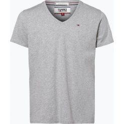 Tommy Jeans - T-shirt męski, szary. Szare t-shirty męskie marki Tommy Jeans, l, z bawełny. Za 99,95 zł.