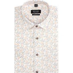 Koszula bexley 2833 krótki rękaw custom fit ecru. Szare koszule męskie Recman, m, z krótkim rękawem. Za 149,00 zł.