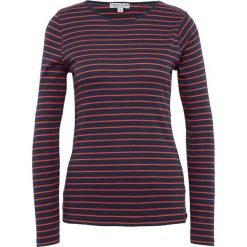 Marie Lund - Damska koszulka z długim rękawem, niebieski. Niebieskie t-shirty damskie Marie Lund, xs, w prążki, z bawełny. Za 89,95 zł.