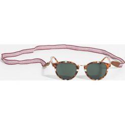 Okulary przeciwsłoneczne damskie aviatory: Parfois – Okulary przeciwsłoneczne + tasiemka