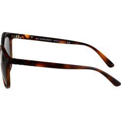 Burberry Okulary przeciwsłoneczne brown. Czarne okulary przeciwsłoneczne damskie lenonki marki Burberry. Za 679,00 zł.