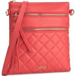 Torebka NOBO - NBAG-E1790-C005 Czerwony. Czerwone listonoszki damskie Nobo, ze skóry ekologicznej. W wyprzedaży za 99,00 zł.