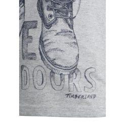 T-shirty chłopięce: Timberland KURZARM OUTDOORS Tshirt z nadrukiem meliertes grau