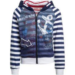 Bluzy chłopięce rozpinane: Desigual CELA Bluza rozpinana blue