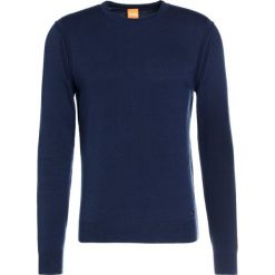Swetry klasyczne męskie: BOSS CASUAL Sweter dark blue