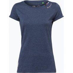 Odzież damska: Ragwear – T-shirt damski – Florah, niebieski