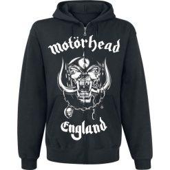 Bejsbolówki męskie: Motörhead England Bluza z kapturem rozpinana czarny