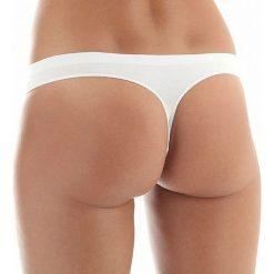 Stringi: Brubeck Stringi damskie białe r. XL (TH00182)
